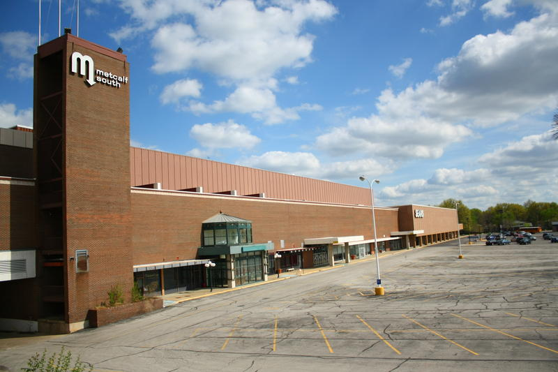 The main building of Metcalf South is closed but Sears is still open for business