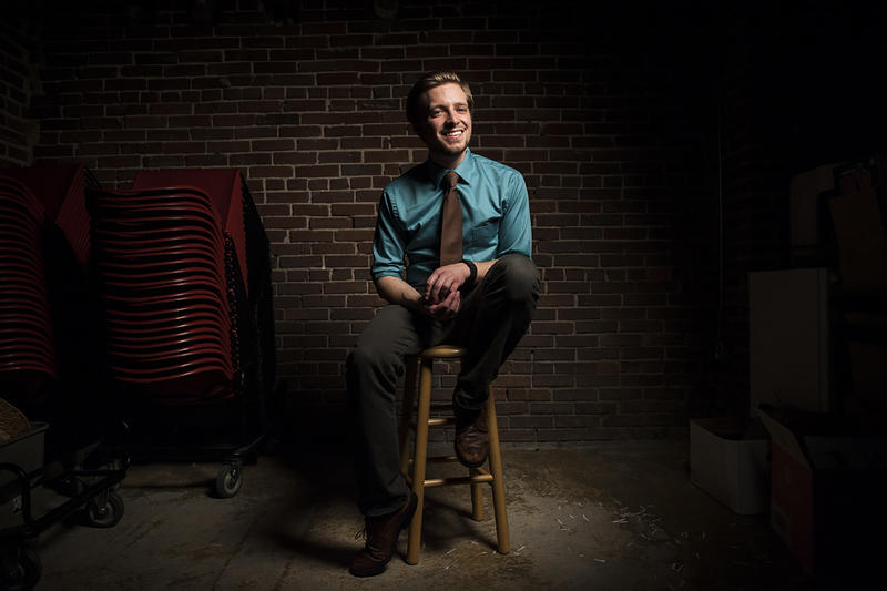 Artist Inc. participant Brian Huther does theater, writing, video, and audio.