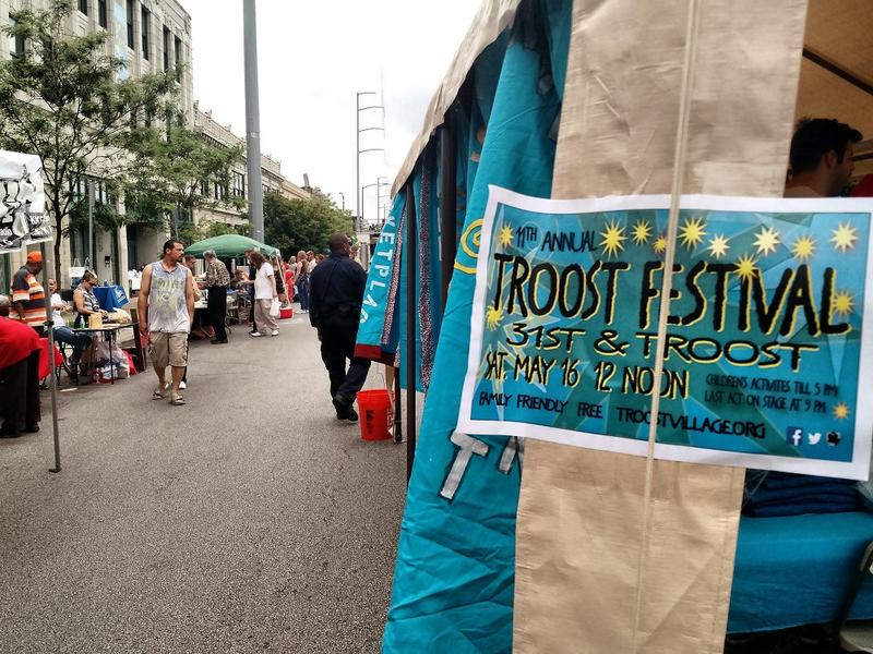 The 11th annual Troost Festival brought together a wide swath of interests and people Saturday.