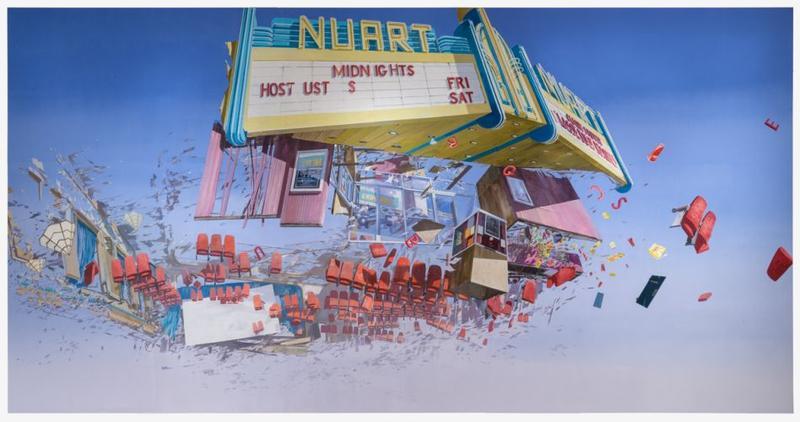 Nuart: Flashe acrylic and latex on Tyvek, 2006