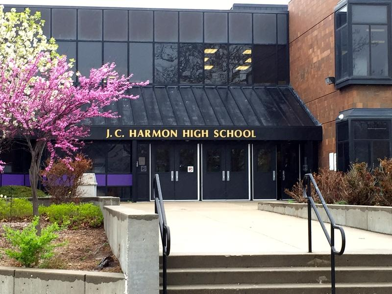 Harmon High School in Kansas City, Kansas is part of the KCK district that is a plaintiff in the lawsuit.