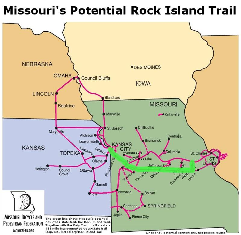 The Rock Island bike trail, part of an ambitious regional trail plan, could be threatened by a recently introduced measure in Congress.