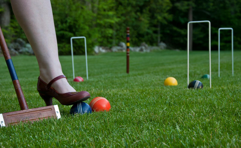 Grab your friends and some argyle socks and play some croquet this weekend in the Northland.