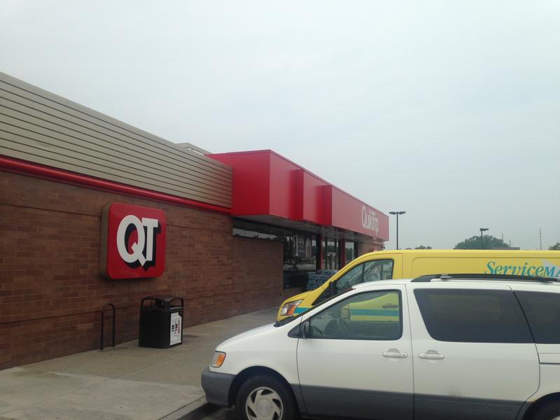A Missouri family got locked out of an Independence QuikTrip while trying to seek shelter during a tornado wor