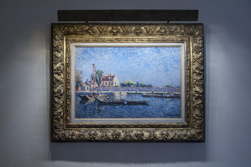 Henry Bloch's favorite work from his collection is this 1885 painting by Alfred Sisley.
