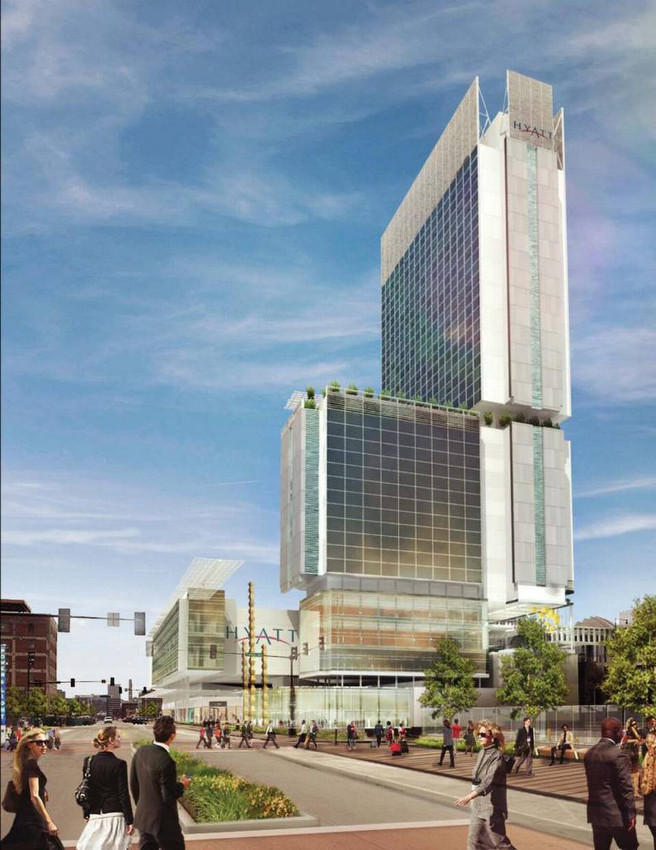 Proposed Convention Hotel