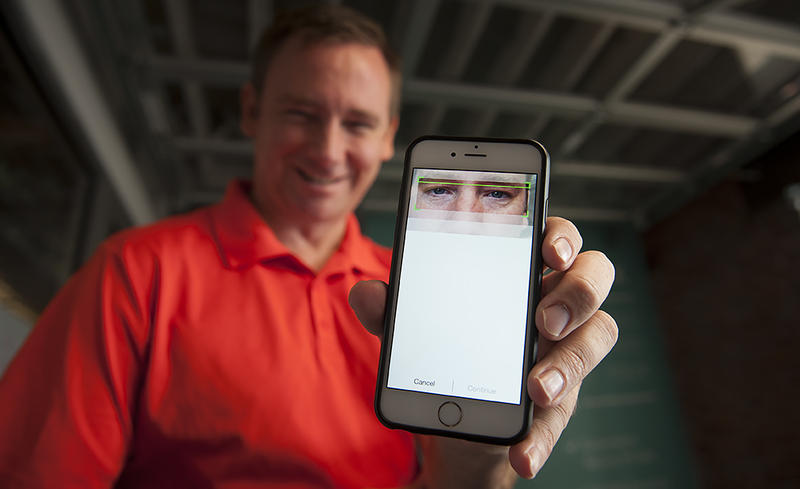EyeVerify sells software technology that uses the camera on a smartphone to take a picture of the blood vessels in a human eye and transforms it into a key that can replace passwords.