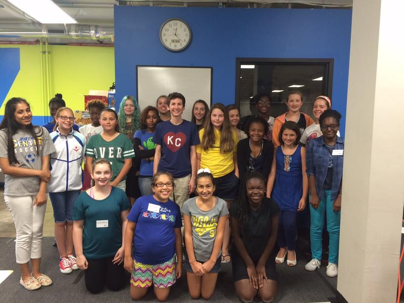 More than 20 girls from across the metro participated in KC STEM Alliance's Girls App Camp August 4-10. They learned basic programming and application development and presented fully-developed apps by the end of the week.