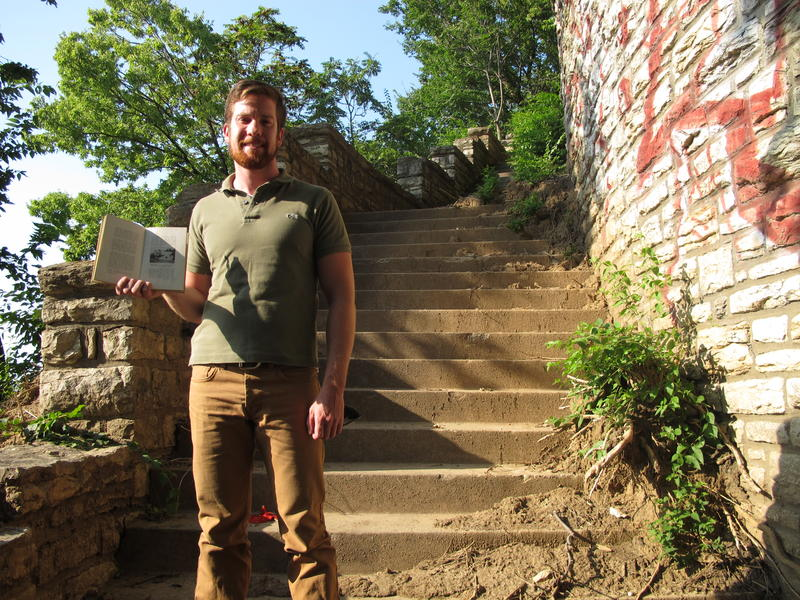 In West Terrace Park, Sean Owens organized a crew of people to dig up 3 feet of mud and uncover a historic staircase.