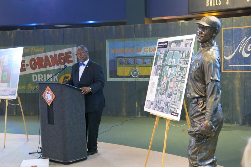 In September, Mayor Sly James announced a new Major League Baseball Urban Youth Academy for the 18th and Vine District.