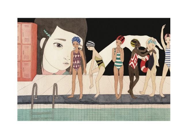 'Swimming Pool (Piscina),' by Hilda Palafox Valencia of Mexico City