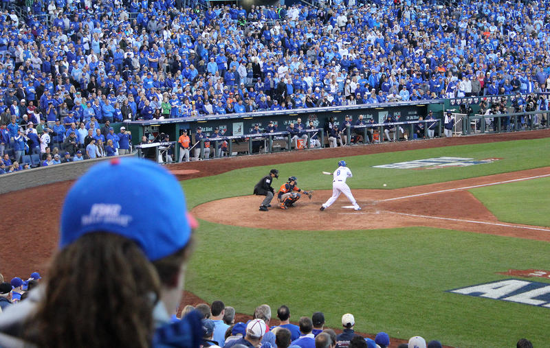 Royals fans will be cheering their team on in four games if the ALCS goes the full distance.