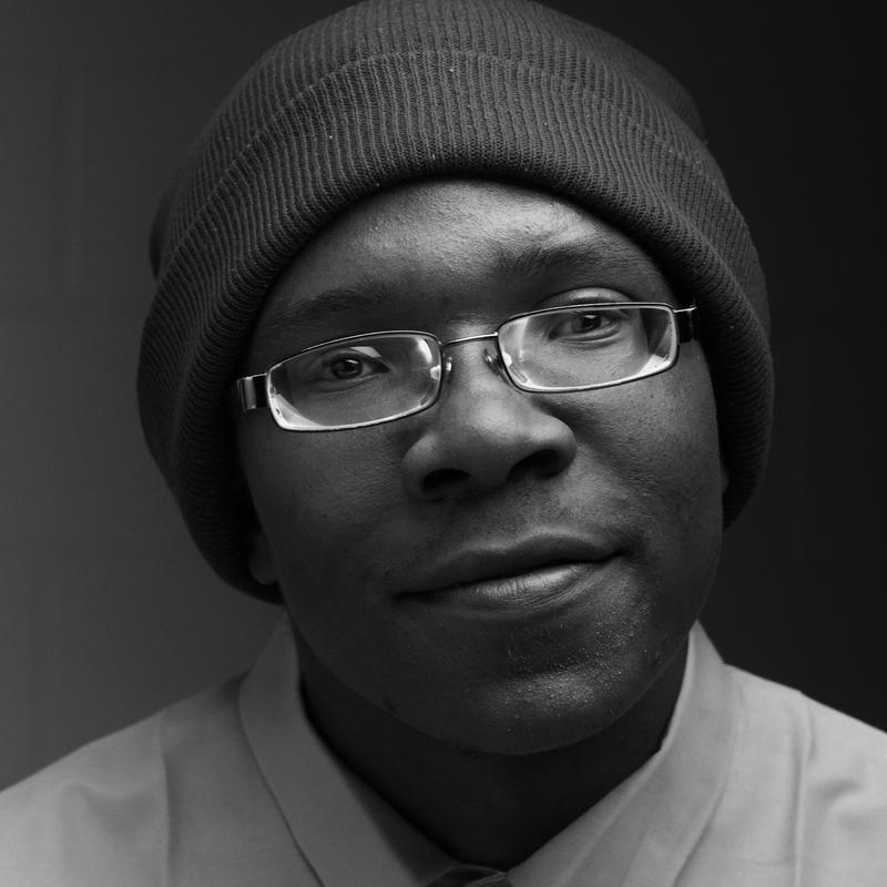 Daryan England is part of the Reaching Out From Within program, he also appears in the 'Faces of Change' exhibit next month at the Kemper Museum of Modern Art.