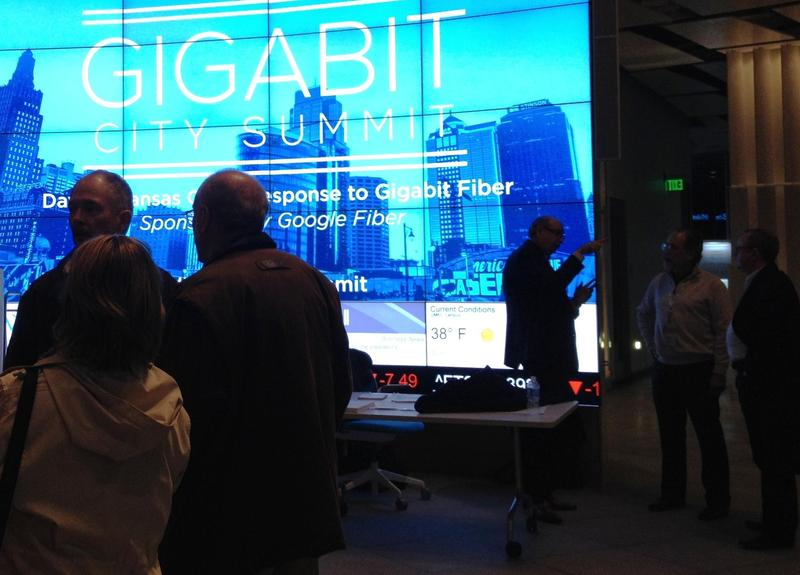 Both Kansas City and Chattanooga participated in the 2015 Gigabit City Summit, held in Kansas City this year.