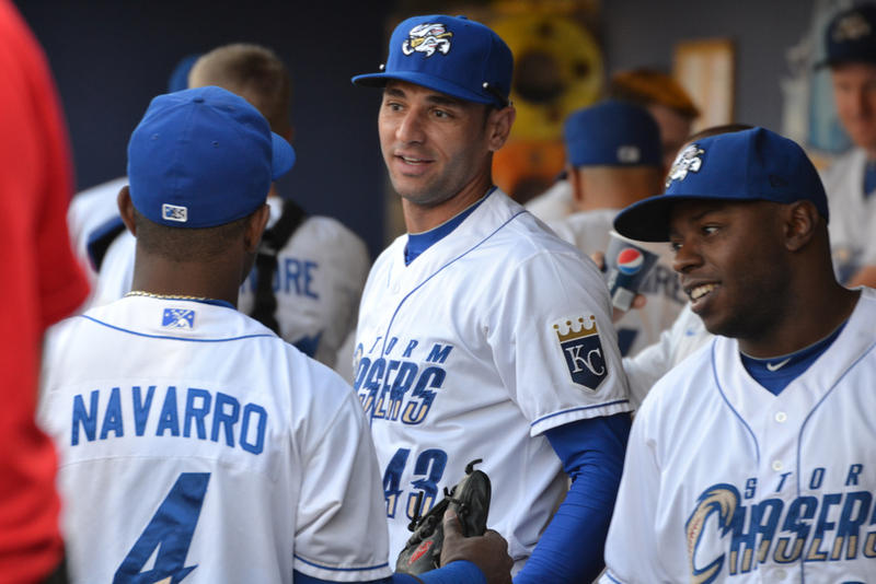 Brazilian Paulo Orlando has spent the season going between the Royals and the minor league Omaha Storm Chasers.