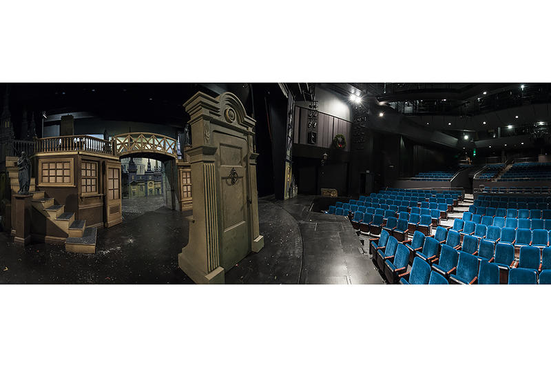The updated Spencer Theatre reopens with advances in lighting and acoustic technology.