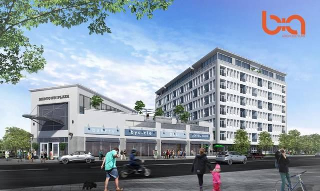 Proposed mixed-use development at 34th and Broadway