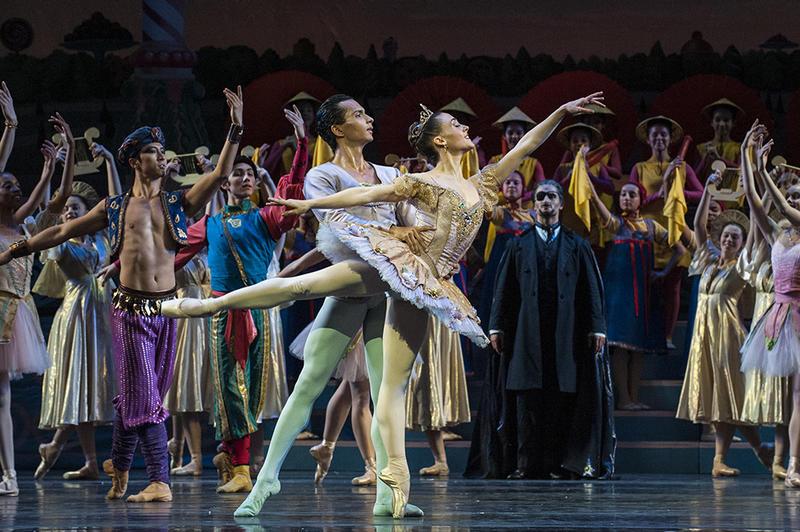 Tempe Ostergren dances in the role of the Sugar Plum Fairy in Kansas City Ballet's 'The Nutcracker.'