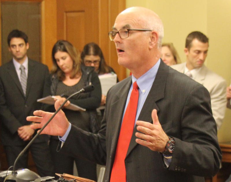 Rep. Jim Ward of Wichita renewed his request for an audit of the Kansas foster care system at a Thursday meeting of the Legislative Post Audit Committee.