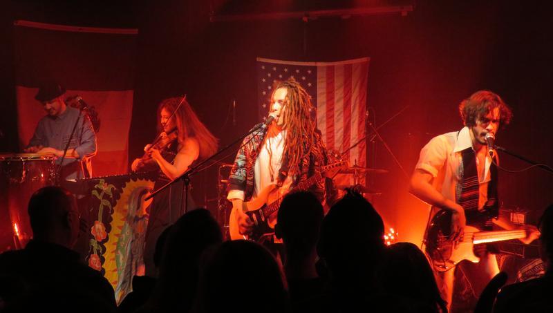 Kansas City-based band Making Movies headlined the RecordBar's final concert.