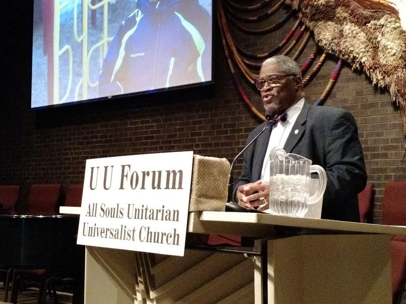 Kansas City, Missouri Mayor Sly James gave community members an update on the city's youth programs, earnings tax and many other topics Sunday morning.
