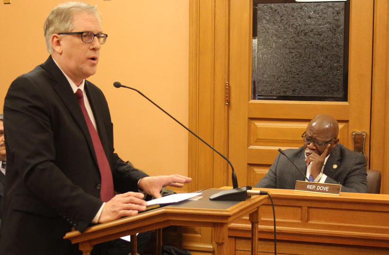 Clark Shultz, director of government affairs for the Kansas Insurance Department, told a House committee that consumer 'safeguards' should be required for network-only health insurance plans proposed under a House bill.