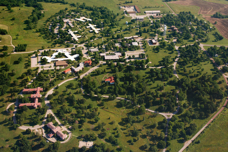 Kansas lawmakers have come up with additional money for the two state-run mental hospitals, including Osawatomie State Hospital, pictured here.