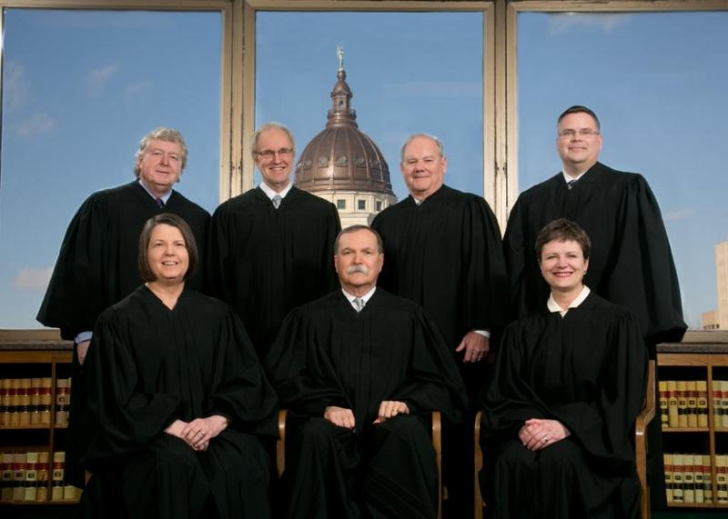 The Kansas Supreme Court justices
