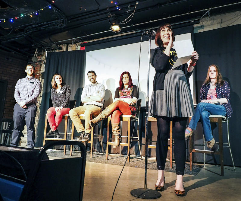 Local readers share from their childhood diaries at reBound: Book Exchange & Podcast Party