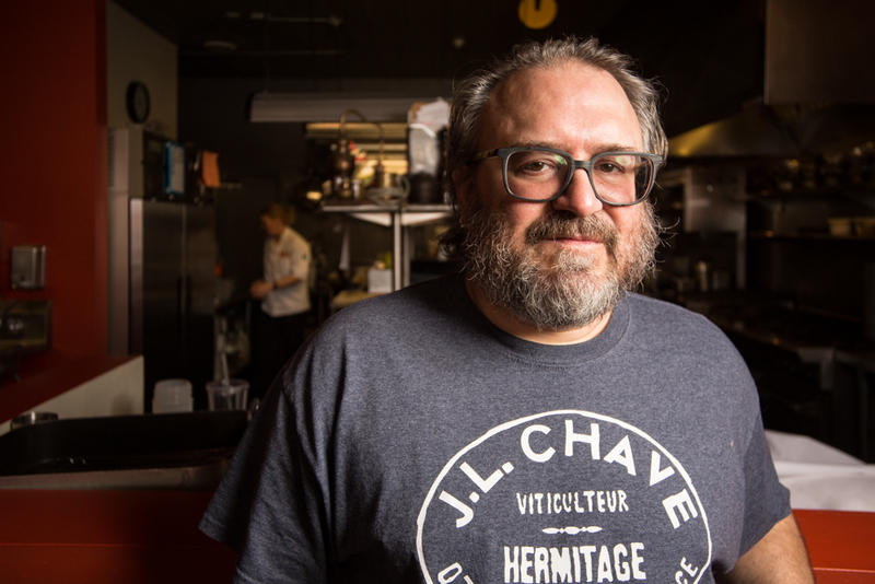 Jonathan Justus is all about local food at his Smithville restaurant, the Justus Drugstore.