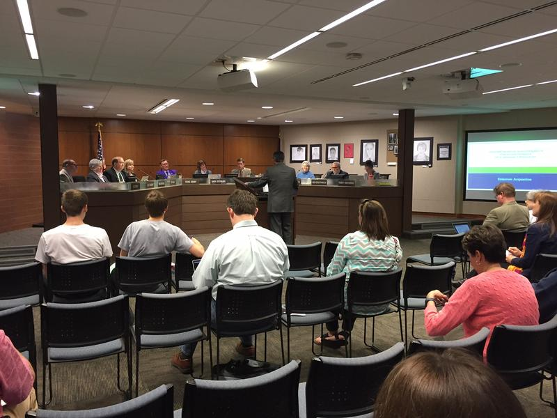 The American Civil Liberties Union of Kansas wrote to the Shawnee Mission school board in May and again in December asking that it drop restrictions against people voicing their complaints at meetings.