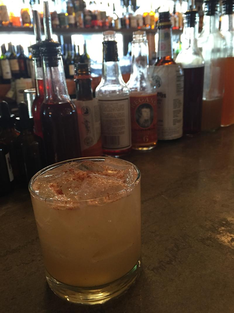 The Tiki Picante is rum-based and served up at Rye in Leawood.