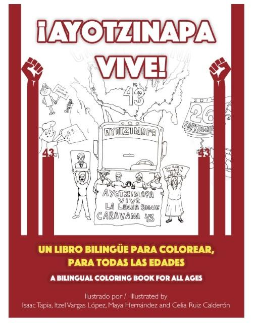 The Cover Of Una Lucha KCs Coloring Book Features A Drawing By Isaac Tapia
