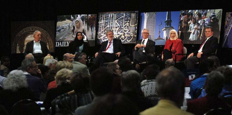 More than 150 people listened and asked questions about being Muslim in Metro KC.