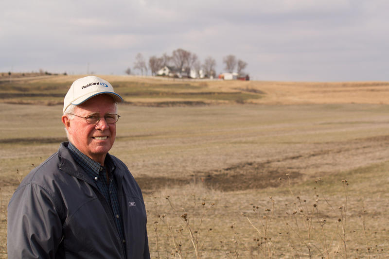 Iowa farmer Kelly Tobin has experimented with cover crops for 10 years in the hopes of increasing the health of his soil.