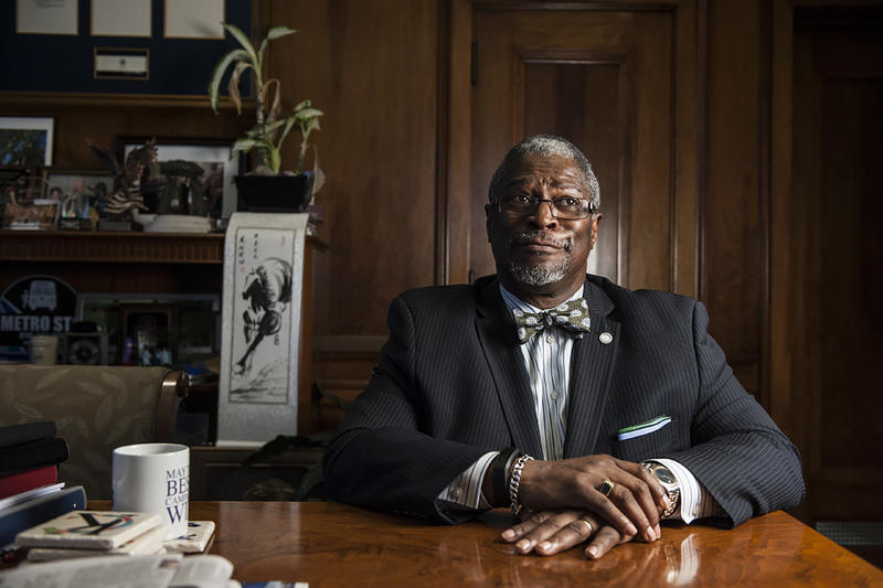 Kansas City Mayor Sly James says he expects to spend the rest of his life here.