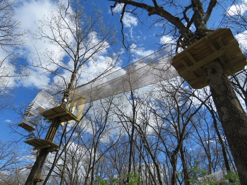 Watch What Swope Park S New Zip Line And Ropes Course