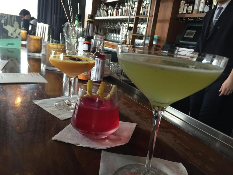 Head to Julep in Westport for a refreshing spring cocktail.