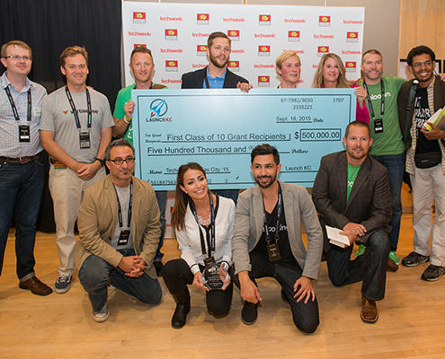 LaunchKC awarded $50,000 to ten entrepreneurs last year at TechWeek Kansas City. Applications are now open for this year's competition.