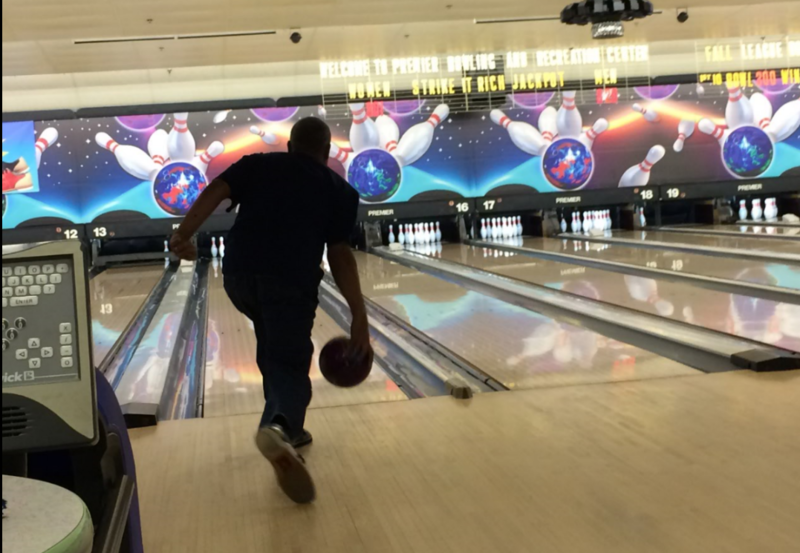 Retired autoworker Raymond Fowler bowls four times a week as part of an exercise regimen to help keep his type 2 diabetes under control.