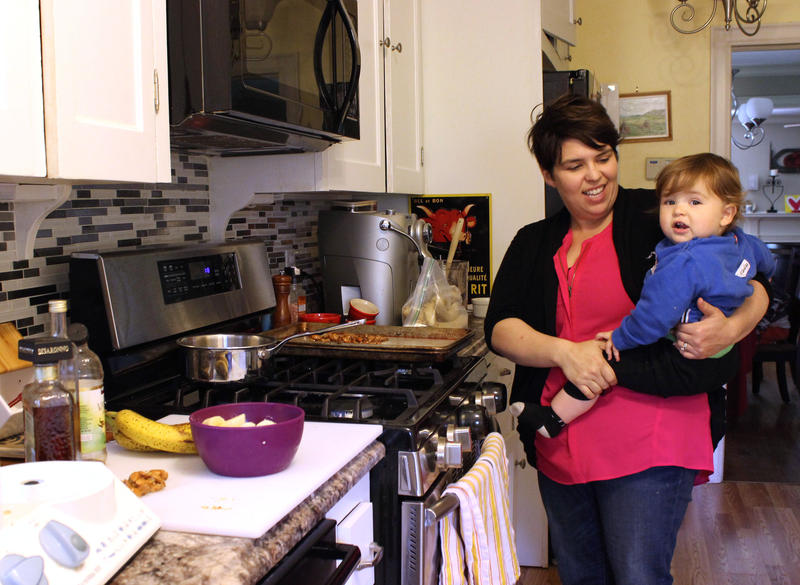 Rachel Ciordas started making banana ice cream at home when she found out her youngest son, Nicholas, had food allergies. But it soon became a popular, healthy dessert option for the whole family.