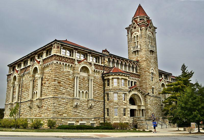 Dyche Hall, University of Kansas