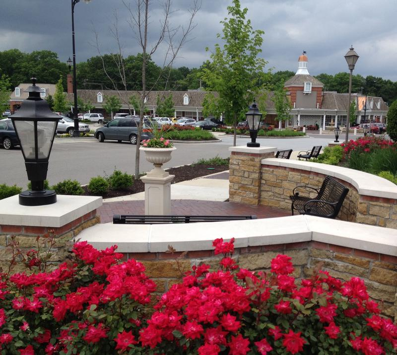 A sales-tax surcharge, raised by a Community Improvement District designation, paid for new landscaping at the Prairie Village (Kansas) Shopping Center.