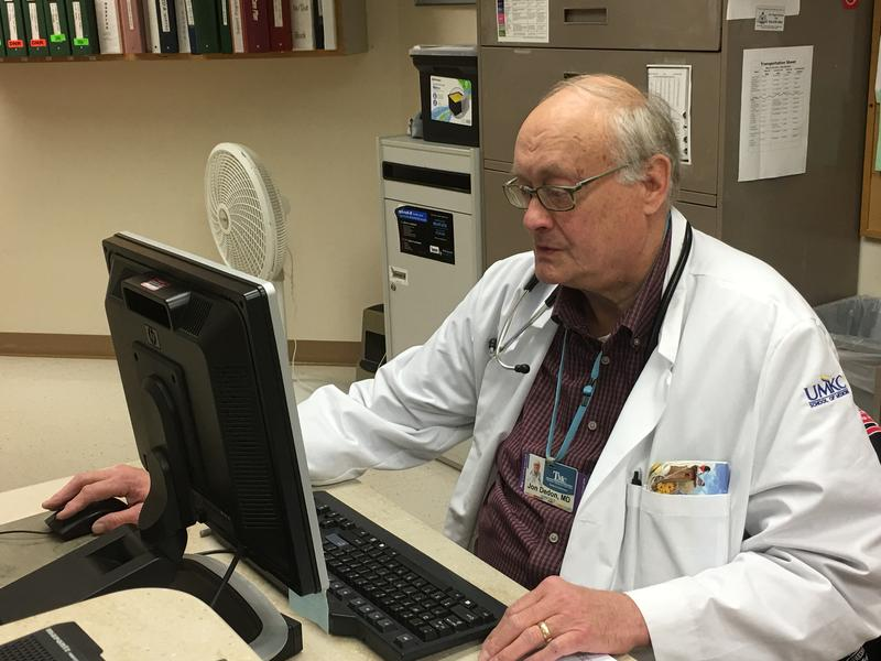 Dr. Jon Dedon is medical director of Truman Medical Center Lakewood's nursing home facility and one of only several dozen geriatricians -- doctors who treat and care for older adults -- in the Kansas City area.