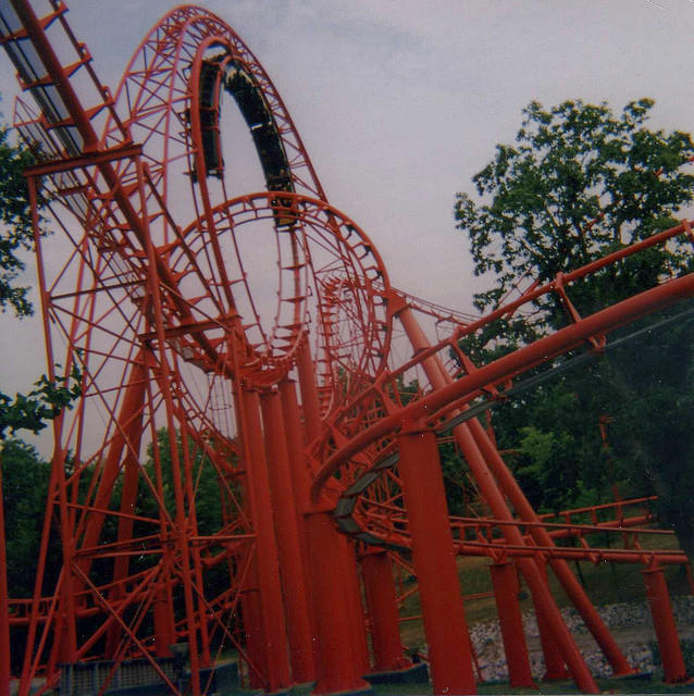 my first ride on a roller coaster essay One of the main forms of energy (kinetic is the other one), stored hidden energy, gravitational potential energy described as u=mgh, measured in joules , the reference point for h should be the lowest point in the situation, it is located at the tallest point on the coaster which is the orange starting track.