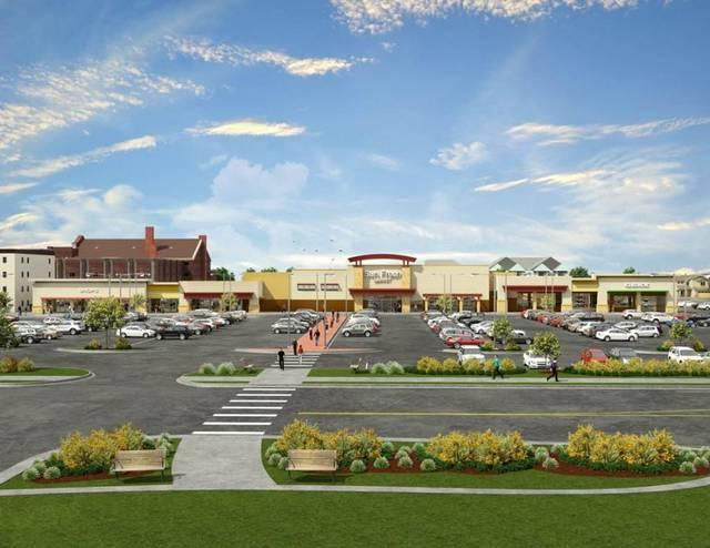 Vision of rebuild Linwood Shopping Center