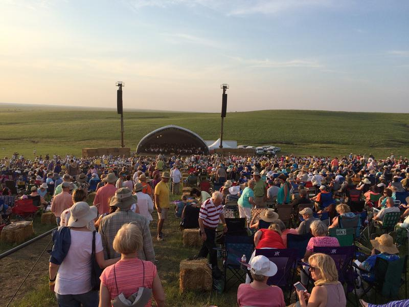 The 11th Symphony in the Flint Hills, near Cottonwood Falls, Kansas, took place on June 11.