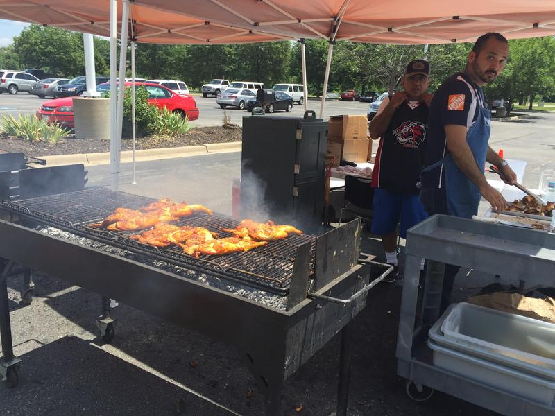 Indian Creek Community Church in Olathe is trying to embrace their growing Latino congregation by sharing Hispanic culture with the whole church. This Father's day, they grilled 100 chickens in traditional Mexican style.