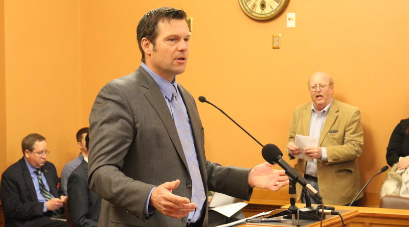 The Kansas secretary of state is often regarded as a mundane office with little impact on the average citizen but, in his two terms, Kris Kobach has become one of the nation's most well-known Republicans, and a close advisor to President Trump.