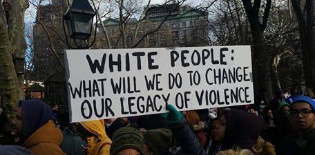 The group Showing Up for Racial Justice, Kansas City is trying to recruit white people to the struggle for racial justice.